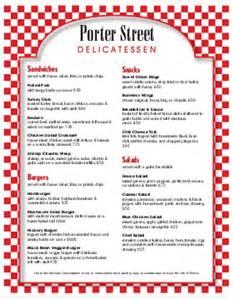 Deli menu template delicatessen menu musthavemenus