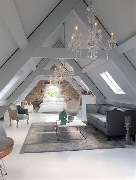 attic space design chandeliers in the attic home pinterest attic