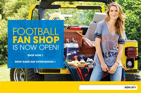 Nfl Shop Shop Football Fan Gear At The Nfl Shop Hsn