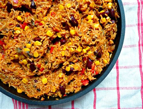 vegetarian mexican rice recipe easy vegetarian one pan mexican rice healthy