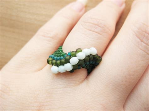 bead jewelry rings and crystals ring how did you make this luxe diy