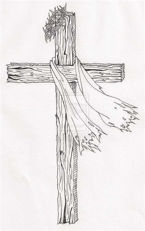 cross tattoo sketches wooden cross drawing search