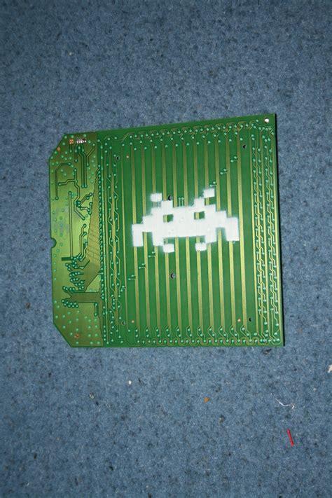 space invader stencil  madragonn  deviantart