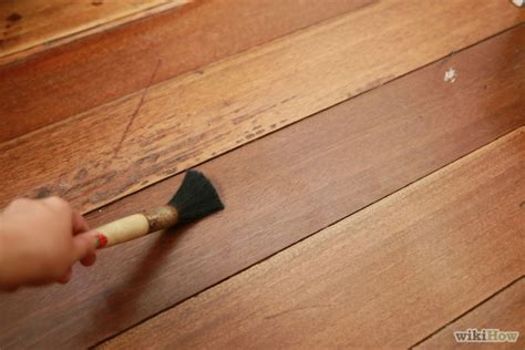 Repair Hardwood Floor Scratches How To Fix Scratches On Hardwood Floors 6 Steps With Pictures