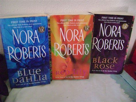 black in the garden trilogy in the garden trilogy black 2 by nora 2005