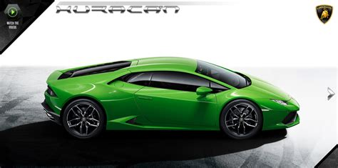 lamborghini opens huracan official website autoevolution