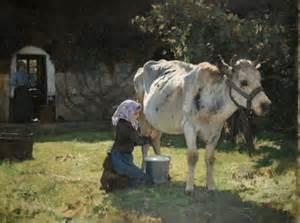 Peinture Couleur Du Monde #1: julien-dupre.-la-vache-blanche-v.-1890-.jpg