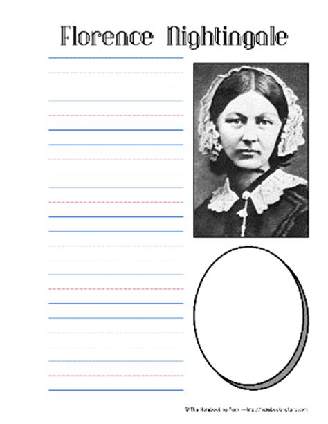 florence nightingale l template florence nightingale notebooking pages history