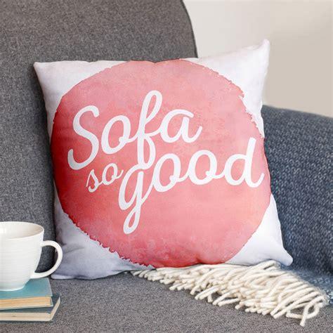 sofa sogood sofa so good luxury faux suede cushion by the drifting