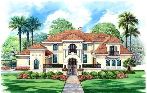 fancy house plans stately motor court and high ceilings 36125tx architectural designs house plans