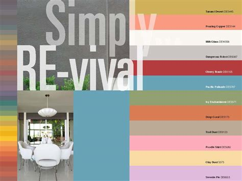 modern interior house colors mad for mid century mid century modern color palette trends