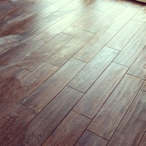 Porcelain Wood Tile Flooring The Flooring Is In Wood Porcelain Tile