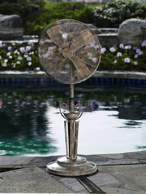 dbf0619 lido outdoor patio fan floor standing outdoor