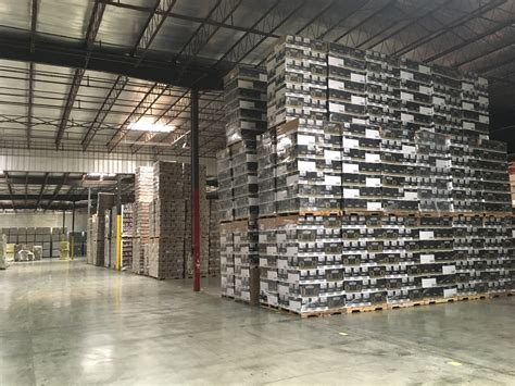 warehouse layout and design block stacking open floor block stack storage cassil freight inc