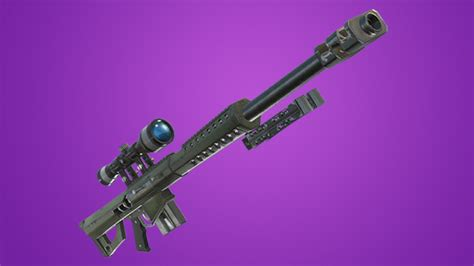 heavy sniper epic fortnite battle royale