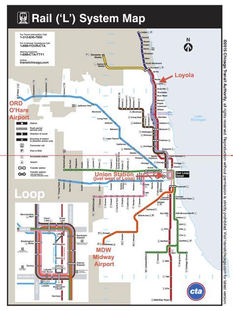 loyola chicago map loyola by