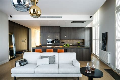 wohnzimmer deco high tech and high end apartment in warsaw by republika