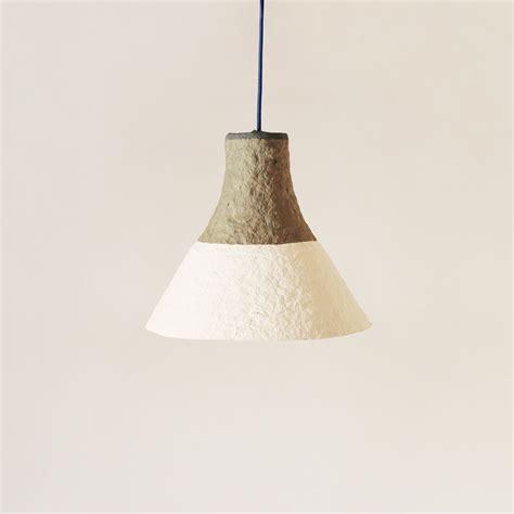 paper mache hanging lights pulp l cypisek crea re com eco design by crea re