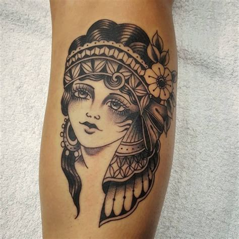 tattoo gypsy girl meaning 65 enchanting gypsy tattoos designs and meaning 2018