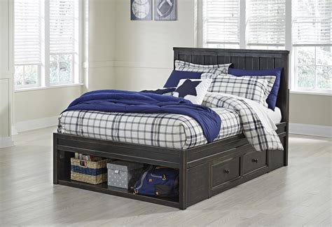 black twin bed with storage jaysom black b521y twin bed with storage