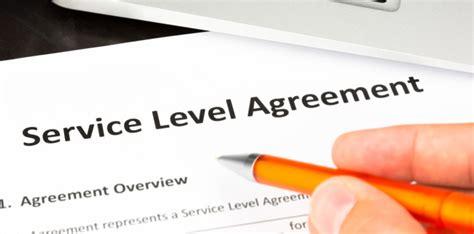 Managed Services Templates Slas Msp Sla Template
