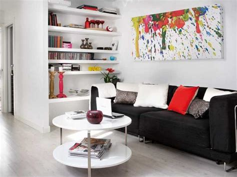 ideas para decorar salon sofa negro como decorar con un sof 225 negro