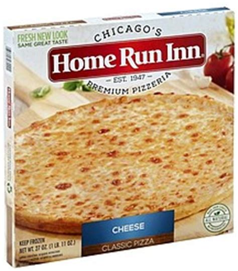 home run inn pizza cheese 27 0 oz nutrition information