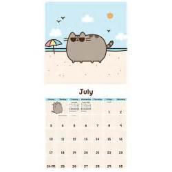pusheen cat 2016 wall calendar