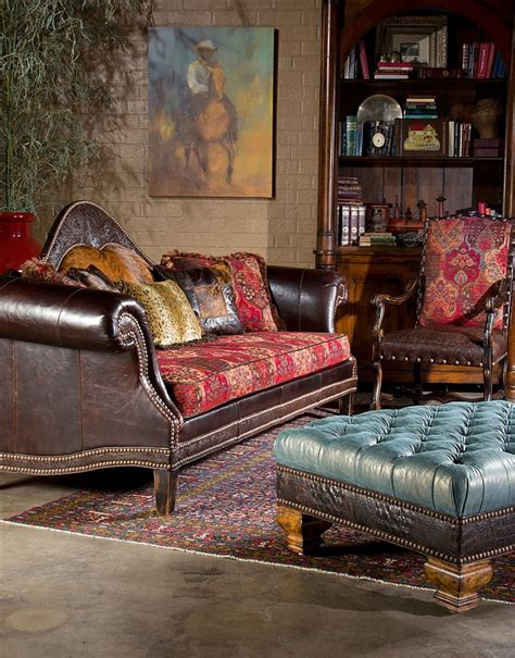 Western Style Sofas by High Style Country Western Sofa Usa Made