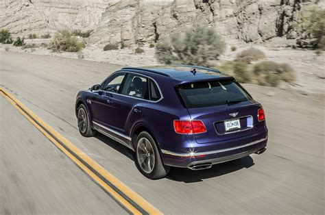 bentley bentayga engine 2017 bentley bentayga first test review motor trend