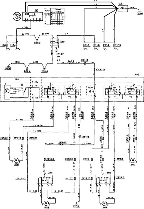radio wiring diagram volvo 850 wiring diagram schemes