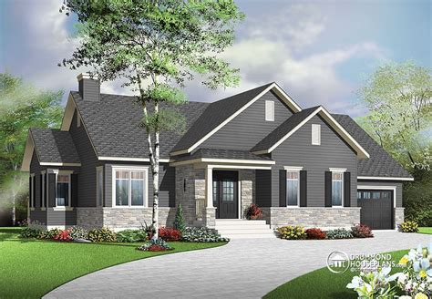 bungalow house plans plan of the week quot just right quot sized bungalow drummond