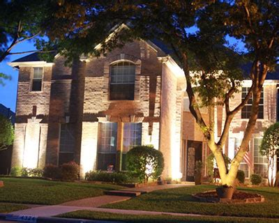 landscape lighting maintenance dallas fort worth plano