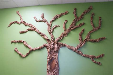 How Do They Make Paper Out Of Trees - classroom wall tree