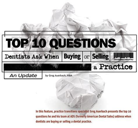 Best Mba For Dentists by Top 10 Questions Dentists Ask When Buying Or Selling A