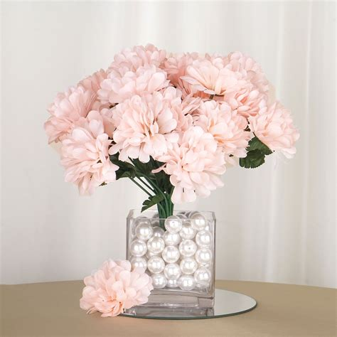 168 silk chrysanthemums flowers wedding bouquet centerpieces sale ebay