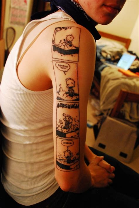 calvin and hobbes tattoo calvin and hobbes really pictures