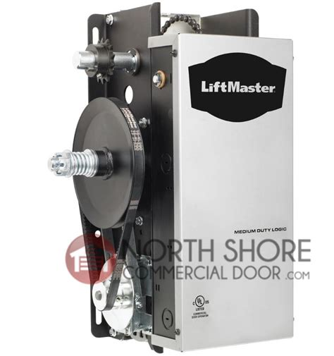 Commercial Overhead Door Opener Liftmaster Mj 5011u Commercial Garage Door Opener Jackshaft Operator
