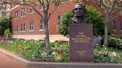 George Washington Mba Time by Is It Time To Change The Name Of George Washington