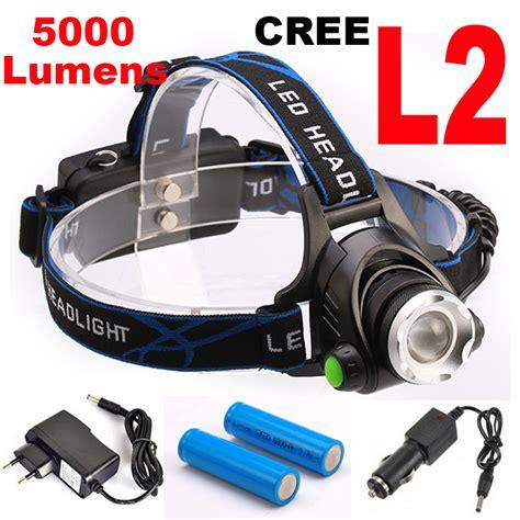 Bohlam Headl Led H4 Gerigi aliexpress buy bright 5000lm 12w cree xml l2 led headl led headlight 18650