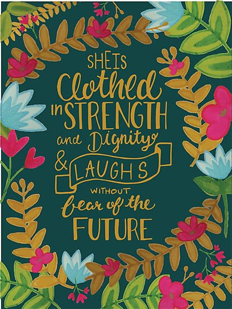 Thomas The Tank Wall Stickers quot she is clothed in strength and dignity and laughs without
