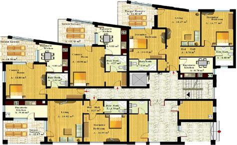 apartment design plans seaview residence costinesti
