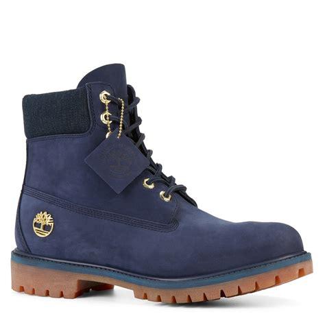 navy boots mens s 6 premium waterproof navy boot burgundy