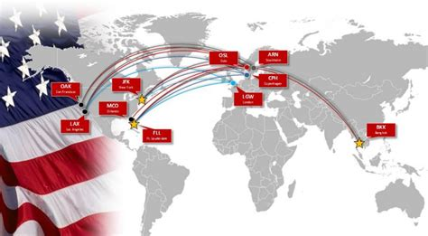 Norwegian Airlines Route Map pilots protest norwegian flights to new york business