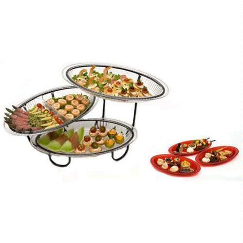 amazon com creativeware 3 tier unbreakable buffet server