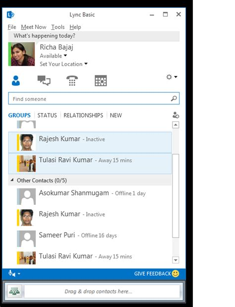 Office 365 Outlook Instant Messaging Image Gallery Microsoft Link