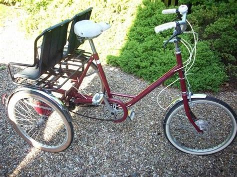 trike with back seat pashley picador picabac tricycle trike with 2 child