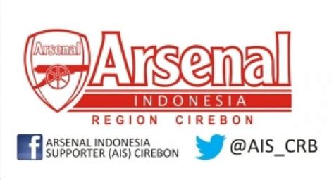 arsenal indonesia fb arsenal indonesia supporter region cirebon aboutcirebon id