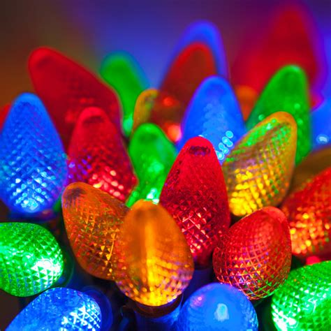 led christmas lights commercial 25 c7 multi color led