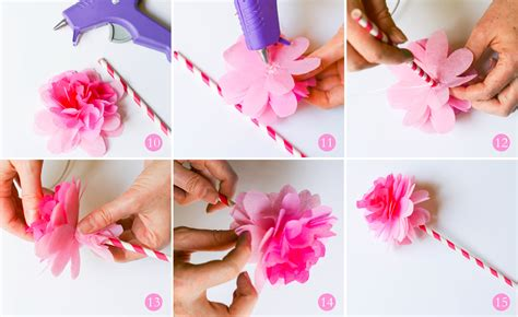 Steps To Make Flowers With Paper - best photos of tissue paper flower steps tissue paper